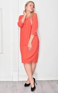 Платье короткое нарядное однотонное Ф4850