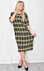 Платье короткое с коротким рукавом повседневное Ф4853