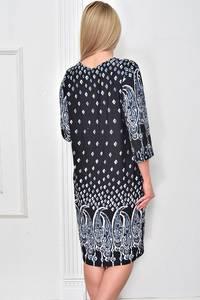 Платье короткое с принтом Ф4856