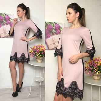 Платье короткое вечернее нарядное Р2310