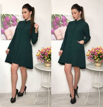 Платье короткое повседневное современное Р2294