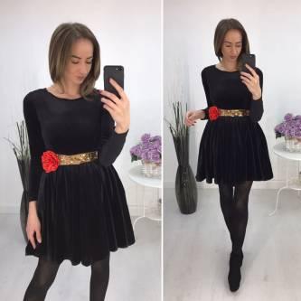 Платье короткое повседневное нарядное Р2283