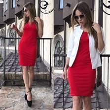 Платье Двойка П0986