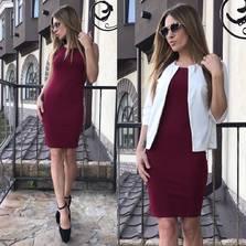 Платье Двойка П0987