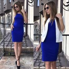 Платье Двойка П0990