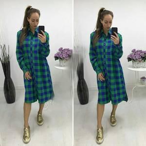 Платье-туника короткое повседневное П8667