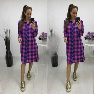 Платье-туника короткое повседневное П8668
