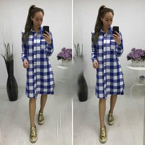 Платье-туника короткое повседневное П8669