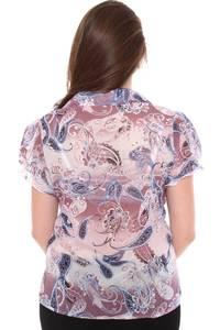 Рубашка с коротким рукавом с принтом Н8422