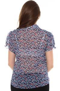 Рубашка прозрачная с коротким рукавом Н8423