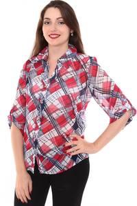 Рубашка с коротким рукавом с принтом Н8428