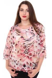 Блузка летняя прозрачная Н8435