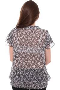 Блузка летняя прозрачная Н8442
