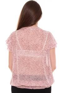 Блузка летняя прозрачная Н8445