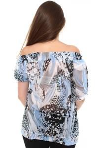 Блузка летняя с коротким рукавом Н8448