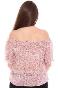 Блузка летняя с коротким рукавом Н8451