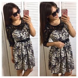 Платье короткое повседневное летнее П3376