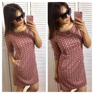 Платье короткое повседневное нарядное П3380