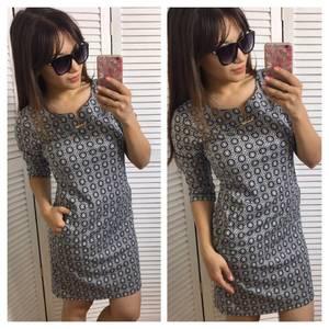 Платье короткое повседневное нарядное П3385