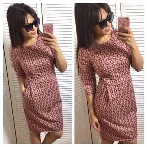 Платье короткое повседневное нарядное П3386