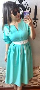 Платье короткое летнее нарядное П3406