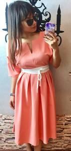 Платье короткое летнее нарядное П3409