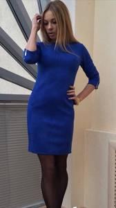 Платье короткое вечернее облегающее П3458