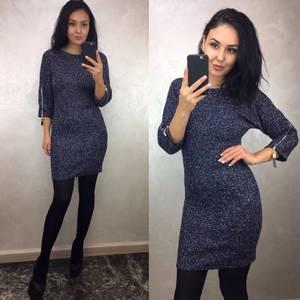 Платье короткое облегающее однотонное П3472