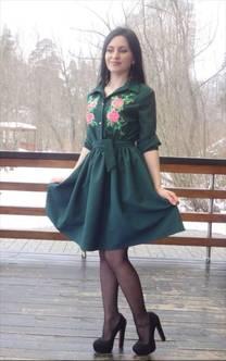 Платье П3475