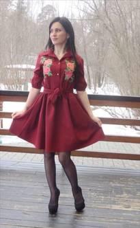 Платье П3476