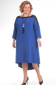 Платье короткое вечернее с рукавом 3/4 С8559