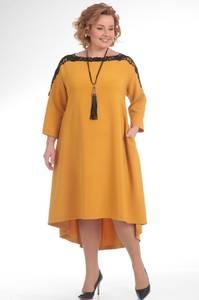 Платье короткое вечернее с рукавом 3/4 С8560