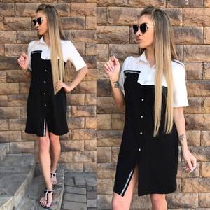 Платье короткое повседневное С9570