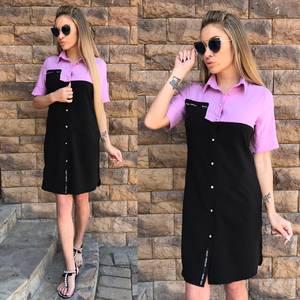 Платье короткое повседневное С9571