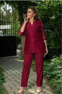 Костюм красный модный нарядный С9971