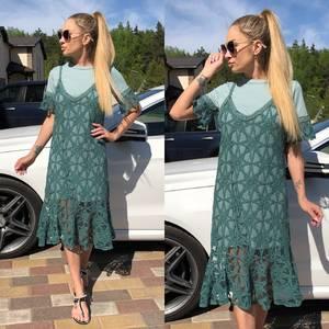 Платье короткое современное Т0728