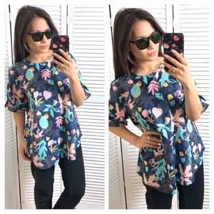 Блуза с коротким рукавом Т1581