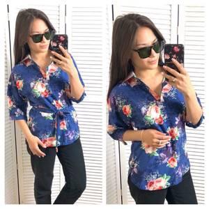 Блуза с коротким рукавом Т1582