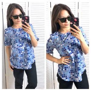 Блуза с коротким рукавом Т1584