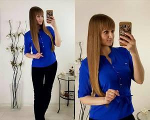 Блуза вечерняя офисная Р2478