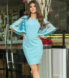 Платье короткое нарядное современное Т6919
