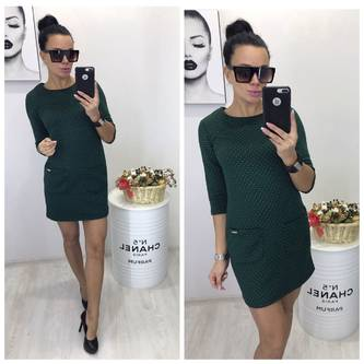 Платье короткое нарядное облегающее Р2319