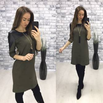 Платье короткое классическое современное Р2322