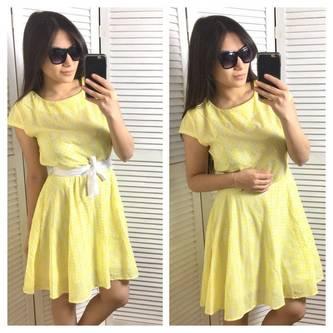 Платье короткое летнее нарядное Р2026