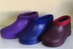 Галоши (фиолетовые) С8156