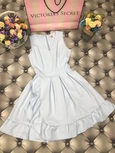 Платье короткое коктейльное белое С7952