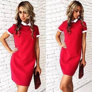 Платье короткое повседневное нарядное У1185