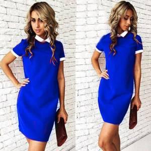 Платье короткое повседневное нарядное У1189