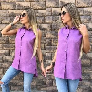 Рубашка летняя однотонная У9550