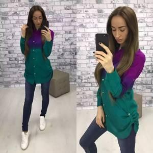 Рубашка с длинным рукавом У9551